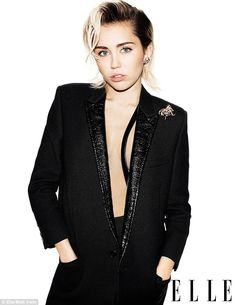Braless Miley reveals she's not serious with Stella Maxwell #dailymail