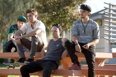 Still of Zac Efron, Shiloh Fernandez, Alex Shaffer and Jonny Weston in We Are Your Friends (2015)