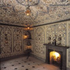 Historical buildings in Wales: Cilwendeg Shell House https://www.facebook.com/photo.php?fbid=665072756848361&set=a.134735423215433.17340.131420090213633&type=1