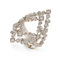Anel de Ouro Nobre 18K com diamantes cognac Link:http://www.hstern.com.br/joias/p-produto/A1B202989/anel/jogo-de-cartas/anel-de-ouro-nobre-18k-com-diamantes-cognac