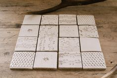 Beautiful ceramic tiles, hand thrown at deVOL's Cotes Mill home