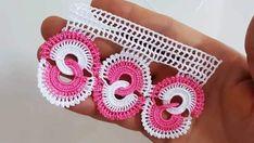 Nişan Yüzüğü Havlu Kenarı Örneği Crochet Doilies, Crochet Flowers, Crochet Lace, Fabric Flowers, Viking Tattoo Design, Viking Tattoos, Sunflower Tattoo Design, Homemade Beauty Products, Ring Verlobung
