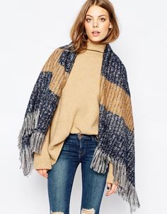 Pieces+Oversized+Square+Scarf
