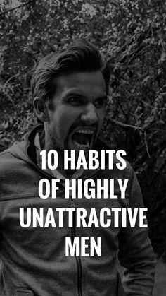 Ugly habits men
