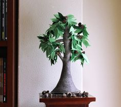 MARIA Intres Испания ДЕРЕВЬЯ из фетра!!!!  Eucaliptus Tree - Felt Tree. Home decor.