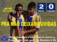 lokos real: REAL VALE DO SOL 2X0 PAYSSANDÚ