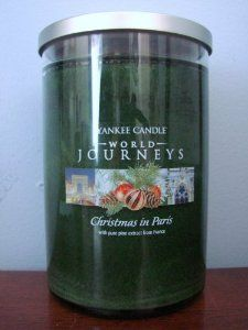 Christmas in Paris (22oz large tumbler) Yankee Candle World Journeys Collection
