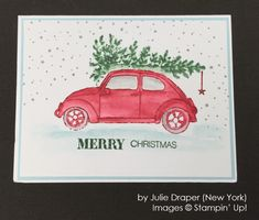 by Julie Draper, Stampin' Up!, Holiday One-for-One Swap