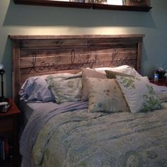 Inexpensive Pallet Headboards for Your Bed | Pallet Furniture Plans