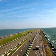 Afsluitdijk, Netherlands http://dreameurotrip.com