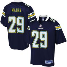 NFL Pro Line Mens Los Angeles Chargers Craig Mager Team Color Jersey - $99.99 Cameron Wake jersey
