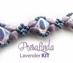Presa Linda Bracelet Kit - Lavender by Carole Ohl