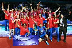 Russian team won World League 2013 (Photo: FIVB) #FIVB #volleyball