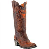 Texas Longhorns Ladies Gameday Cowboy Boots!