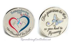 Collectable Keepsake Coins - Remembering Our Babies Keepsake, Pregnancy Loss Support, Official Site of Pregnancy & Infant Loss Remembrance Day October 15th