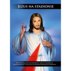"""""""Jezus na stadionie"""" to jednodniowe rekolekcje charyzmatyczne pod hasłem """"Kto wierzy w Niego, ten na pewno nie zostanie zawiedziony"""". Ojciec John Bashobora poprowadził spotkanie uwielbieniowe na Stadionie Narodowym w Warszawie 6 lipca 2013 r.  Do nabycia na sklep.pobozemu.pl"""