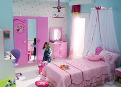 girls fairy pink princess bedroom furniture