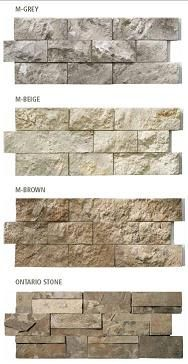 Modula Stone self-stick easy stone veneer to cover old fashioned brick fireplaces. Home Renovation, Home Remodeling, Stone Veneer, Brick And Stone, Home Projects, My House, Home Improvement, Sweet Home, New Homes