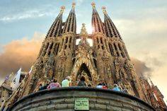 La Sagrada Familia ... Barcelona, Spain