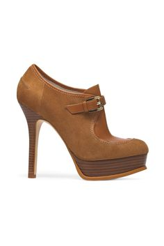 fall 2012, Michael Kors, shoes, boots + booties, camel