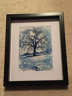 Winter tree, zen tree, nature, winter, blue photo, photography, snow by Frogkissers on Etsy https://www.etsy.com/listing/261149919/winter-tree-zen-tree-nature-winter-blue
