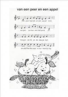 Liedje - Van een appel en een peer