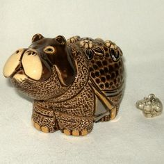 Baby Hippo Trinket Box w/Charm. (I have this ... lucky me.)