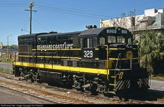 RailPictures.Net Photo: SCL 329 Seaboard Coast Line GE U18B at Orlando, Florida by Tom Farence