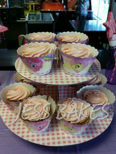 My little pony cupcakes by Jess Bakes www.jessbakes.net