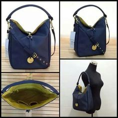 Lacoste Daily Bucket Bag Navy Blue