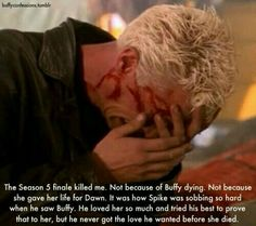It's devastating to see Spike that upset.