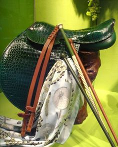 www.horsealot.com, the equestrian social network for riders & horse lovers | Equestrian Fashion : Hermès saddle.