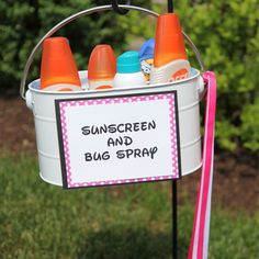 diy home sweet home: 10 DIY Summer Party Ideas