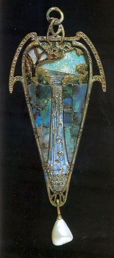 Waterfall Pendant by Georges Fouquet