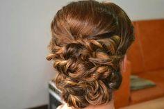 Twisted hair