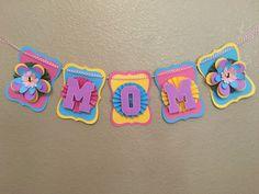 Name Banner birthday baby shower wedding by AandNBannerCreations