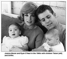 JOANNA MOORE and RYAN O'NEAL, 1960s