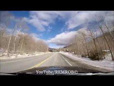 Driving White Mountains, Bartlett, N.H. To Mt. Washington Hotel