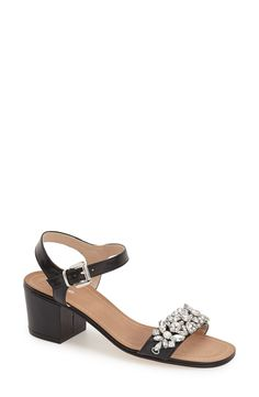 ef6c556f29808 Dune London  Mahala  Block Heel Sandal (Women) Nordstrom Shoes
