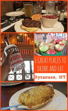 Are you heading to Syracuse, New York? Check out these 6 great places to eat and drink during your trip! | #VisitSyracuse