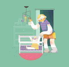 Digital Illustration, Family Guy, Guys, Fictional Characters, Illustrators, Boys, Men
