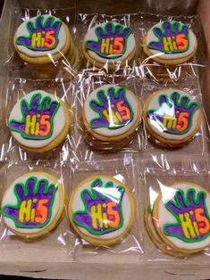 Cupcake Hi 5 5th Birthday Party Ideas Decorations 2nd