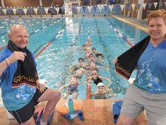 b17785ad1d44 Jeffrey Davidson (Swim Coach) and Codie Grimsey (Glennie Head Swim Coach)  warm