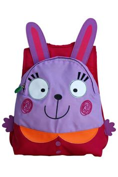 The perfect bag for your little one's adventures, the Happy Packer from Annabel Trends is available in Fishy, Kitty and Bunny designs!
