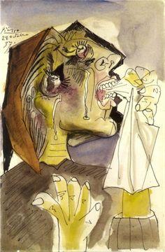Pablo Picasso (1937) La femme qui pleure