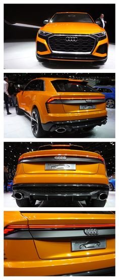 AUDI Q8 Concept Audi Rs6, Automotive Group, Hot Rides, Sexy Cars, Fast Cars, Sport Cars, Custom Cars, Concept Cars, Exotic Cars