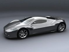 Aston Martin AM V10  Stealthy...just waiting for it to go invisible