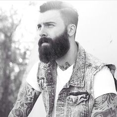 your epic beard puts me in a trance and that hair cut is yum!