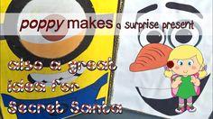 Poppy Makes... a surprise present. Dutch tradition, also fun for Secret Santa. Have fun! #PoppyMakes #Minions #Stuart #Olaf #OlafsFrozenAdventure #Surprise #SinterklaasSurprise #SecretSanta #Lootjes #DrawName #Christmas #Xmas #SantaClaus #Santa #Pakjesavond #Sinterklaas #Sint #Piet #NaughtyOrNice #DiyProject #Crafternoon #CreativeLife #CreateEveryday #FREE #Download #PDF #Printable #Template #DIY #Craft