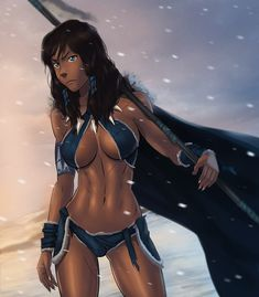 Savage Korra full dress by SunsetRiders7.deviantart.com on @deviantART